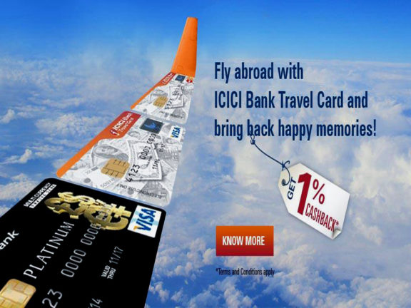 Travel Card Login ICICI Bank