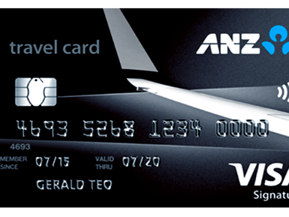 Travel Card Login ANZ
